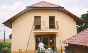 Rodinný dom s fasádou 04